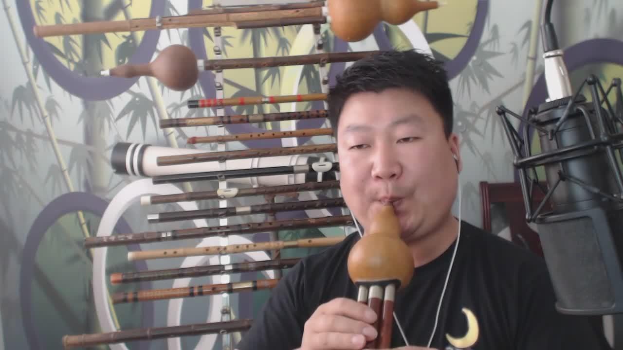 【葫芦丝新鸳鸯蝴蝶梦】 乐皇老孟直播_乐皇老孟视频