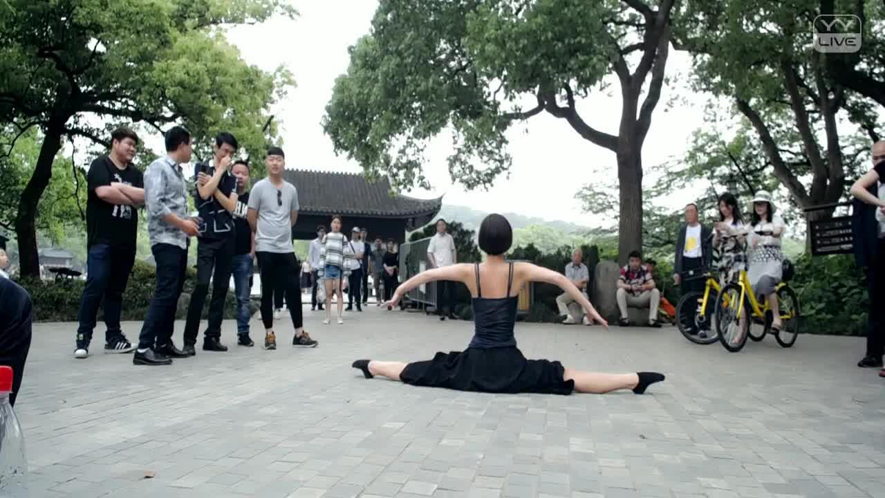 户外舞蹈《古装》