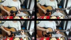 【RockKing】上帝是个女孩 木吉他solo