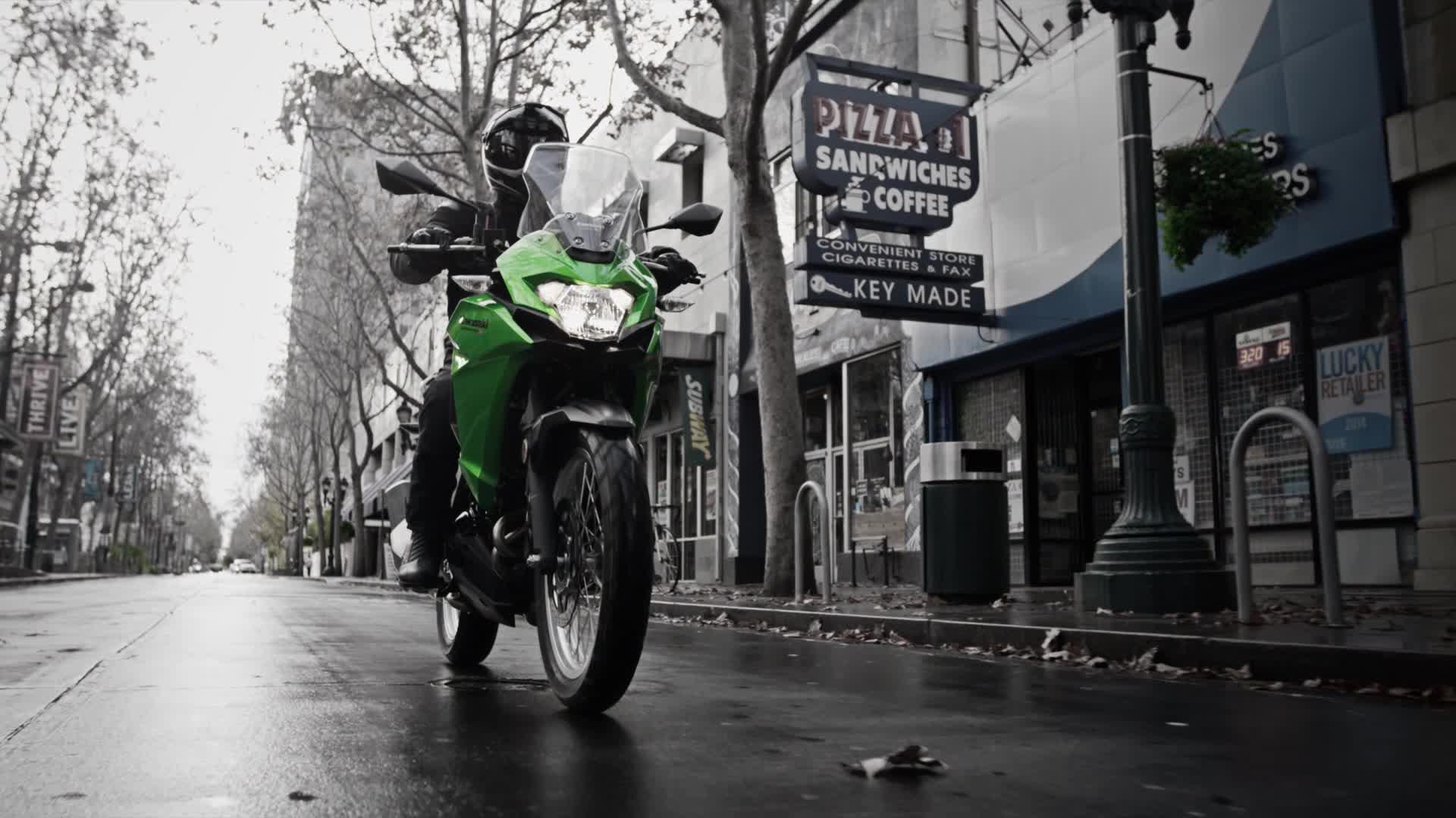 川崎进口拉力摩托车-Versys-x300