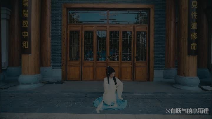半壶纱古风舞蹈