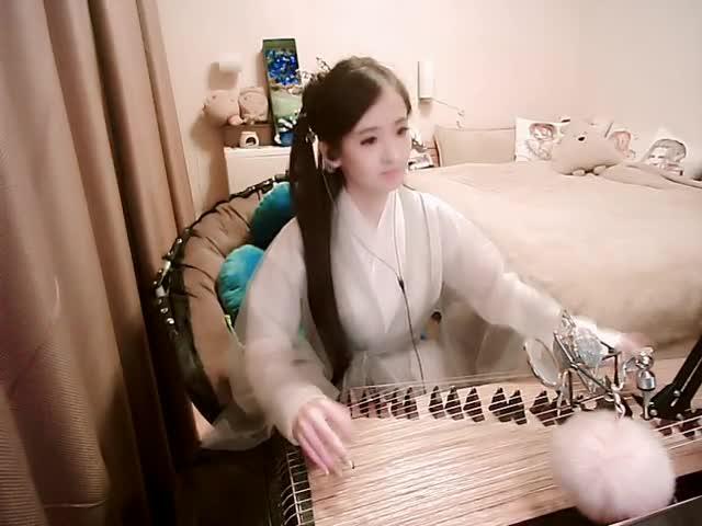 古筝《笑傲江湖琴箫合奏》