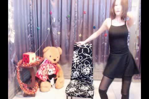 台湾岑珍 椅子舞