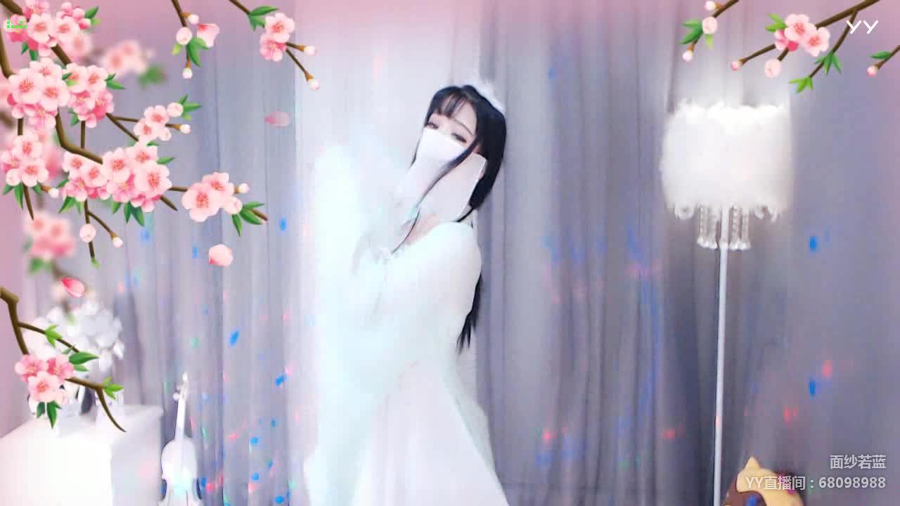 诗一般的梦怜图-若蓝唯美古风