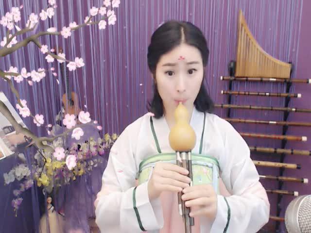 月光下的凤尾竹 葫芦丝 风萧萧演奏